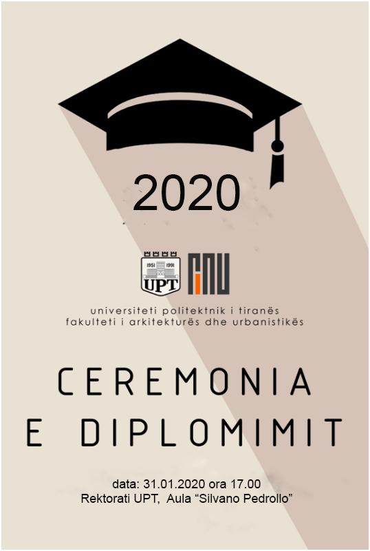 Ceremonia e Diplomimit 2020